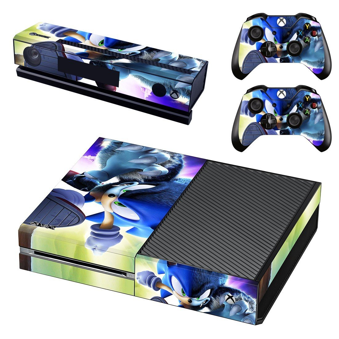 Sonic unleashed xbox one skin for console and controllers
