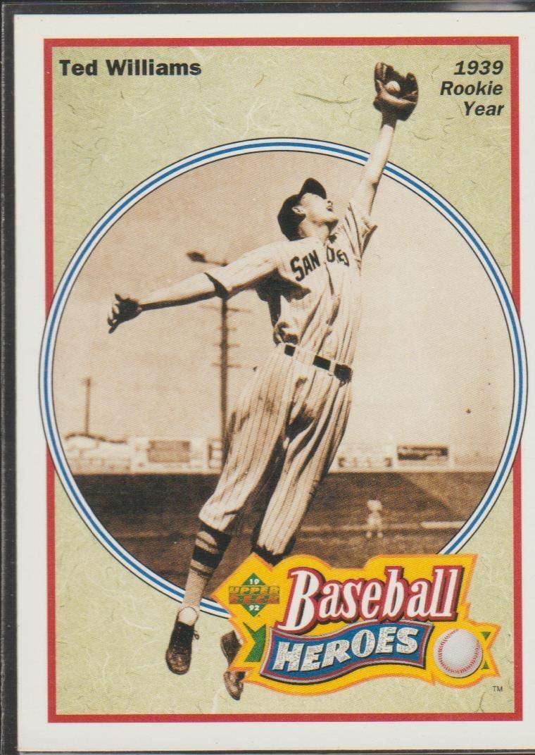 1991 Upper Deck Ted Williams Red Sox Baseball Heroes Baseball Card #28