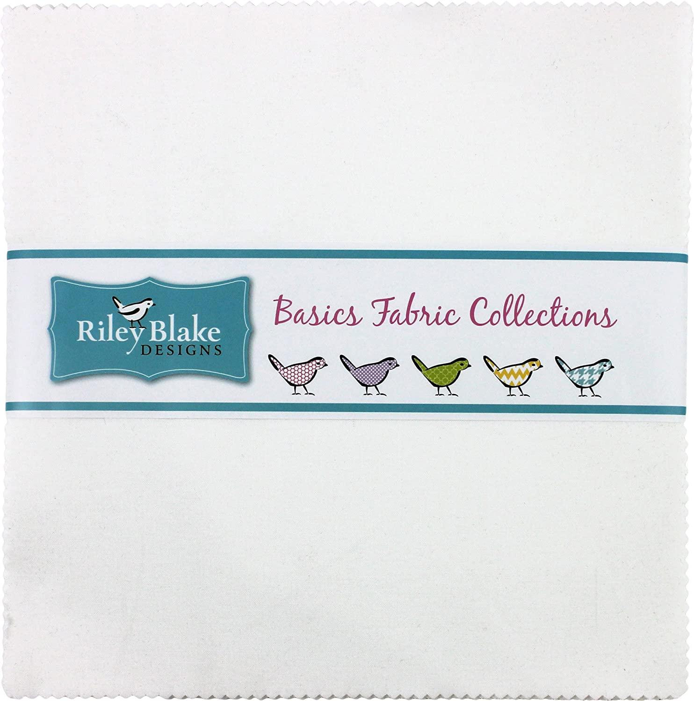 Confetti Cottons Riley White 10