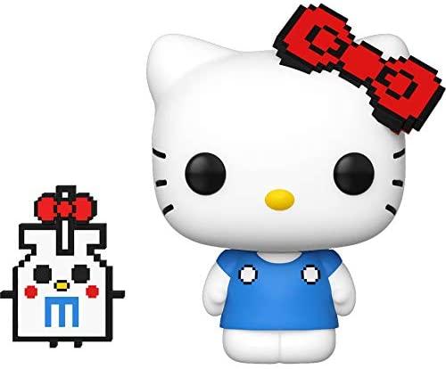Hello Kitty with 8 bit Item: Funko Pop! Vinyl Figure & 1 Compatible Graphic Protector Bundle (031 - 43464 - B)