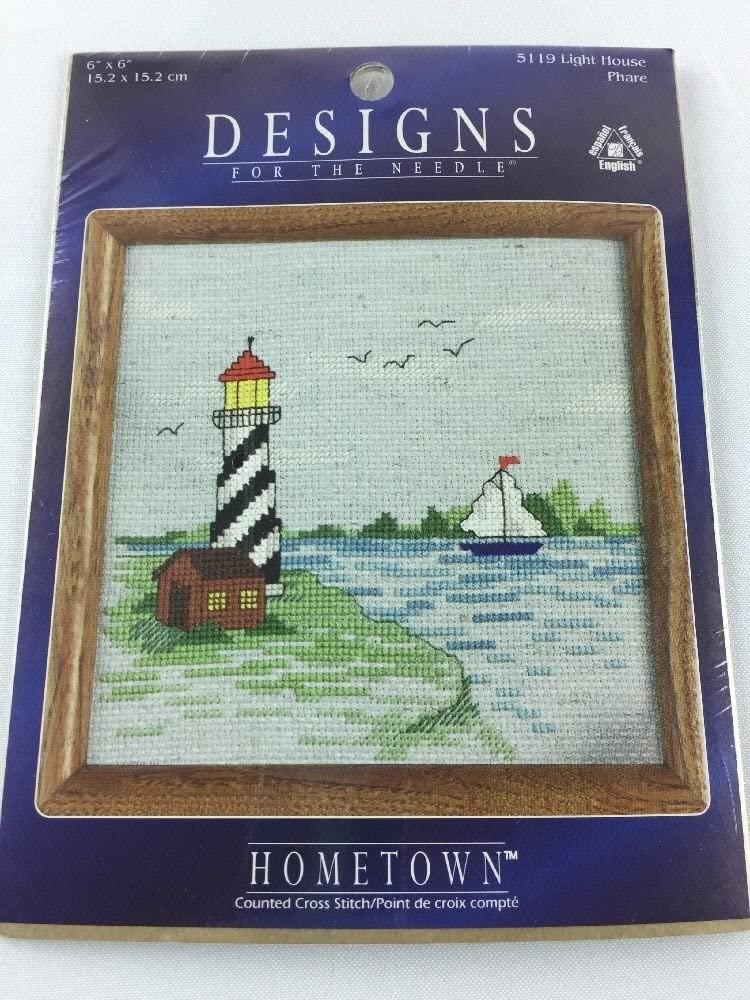 Light House - Designs For The Needle Hometown Collection Counted Cross Stitch Kit 5119