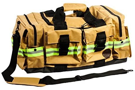 Fireflex Firefighter Duffle Bag (gold)