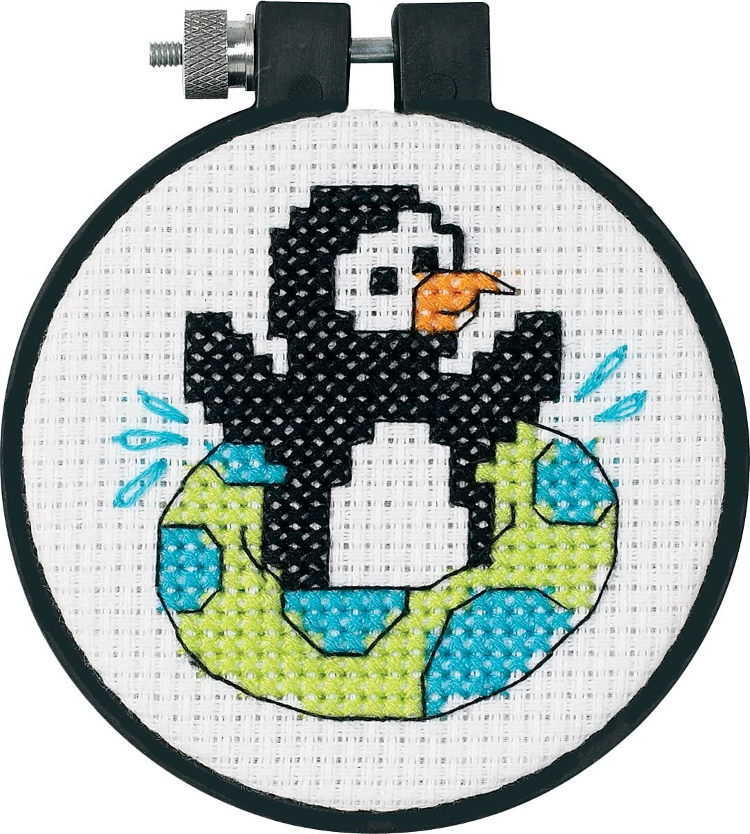 Dimensions Needlecrafts Counted Cross Stitch, Playful Penguin (73269)