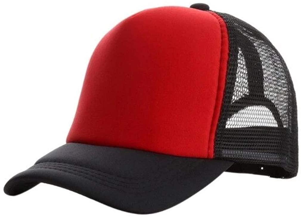 Trending Travis Baseball Cap Mesh Summer for Men Solid Outdoor Clothing