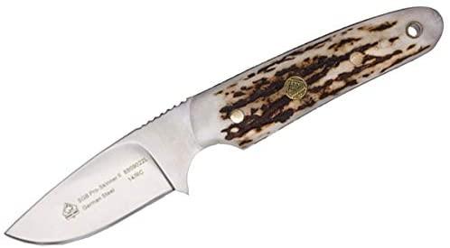 Puma SGB Pro Skinner II Stag Hunting Knife with Leather Sheath