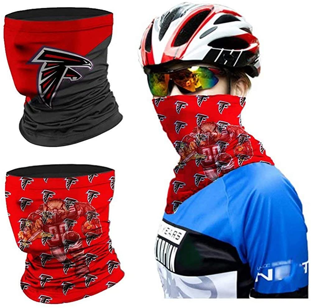 2pcs Multifunctional Face Scarf Neck Gaiter with mobile phone stand
