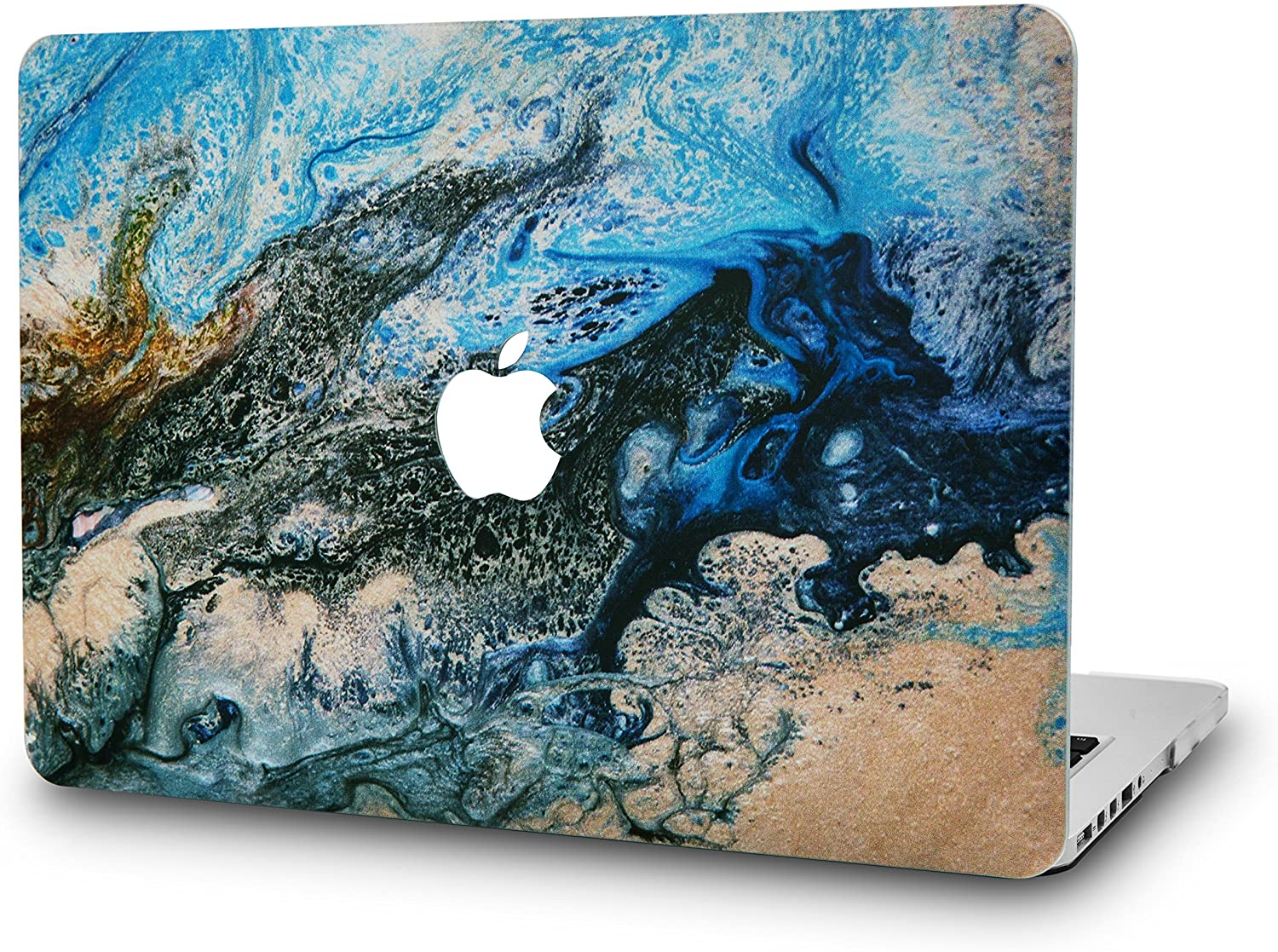 "KECC Laptop Case for Old MacBook Pro 13"" Retina (-2015) Plastic Hard Shell Cover A1502 / A1425 (Sea)"
