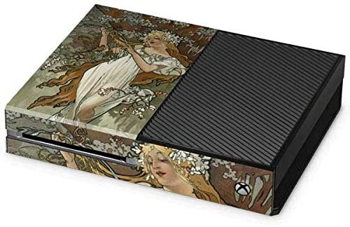 Skinit Decal Gaming Skin for Xbox One Console - Officially Licensed Bridgeman Art The Seasons: Spring Design