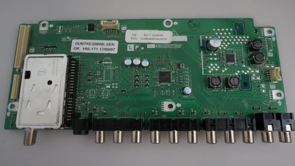 Sharp DUNTKE208FM01 Main Unit/Input/Signal Board KE208