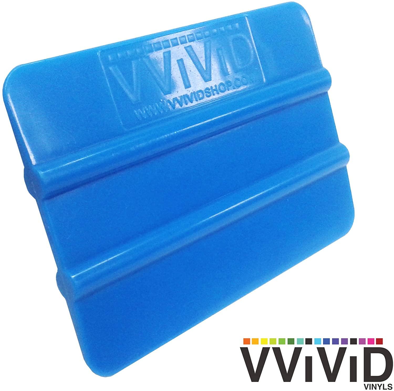 VViViD Blue Handheld Vinyl Wrap Applicator Squeegee