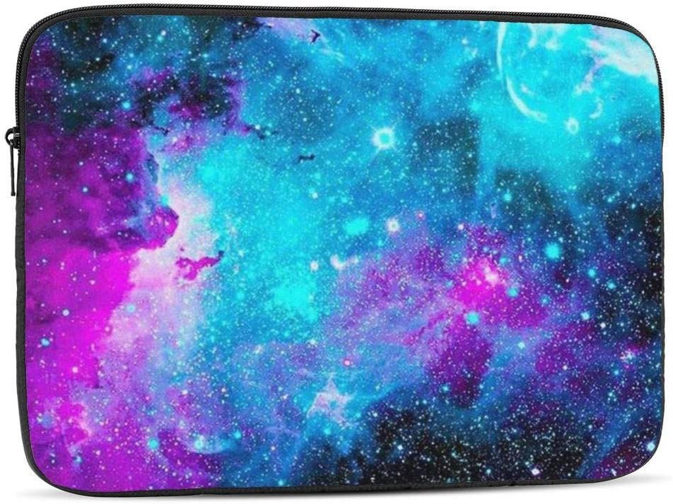 13 15 Inch Laptop Sleeve Bag Compatible with MacBook Pro Air Waterproof Shock Resistant Notebook Protective Bag Carrying Case with Small Case - Galaxy