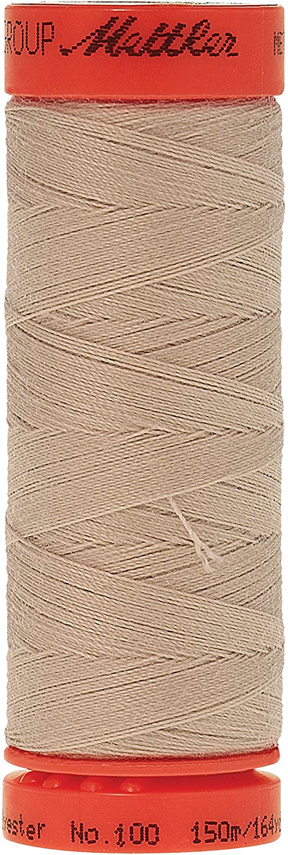 Mettler Metrosene 100% Core Spun Polyester Thread, 165 yd, Sea Shell