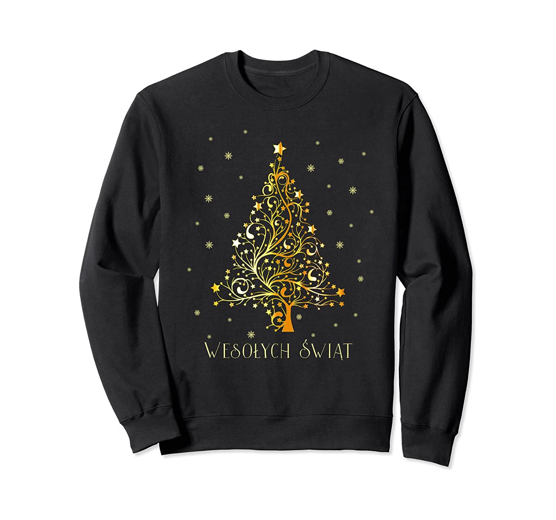 Polish Christmas Tree Poland Decoration Ornament Star Xmas Sweatshirt
