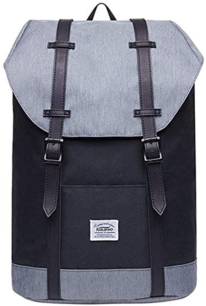 Lightweight Outdoor Backpack, KAUKKO Travel Casual Rucksack Laptop Daypack for 15
