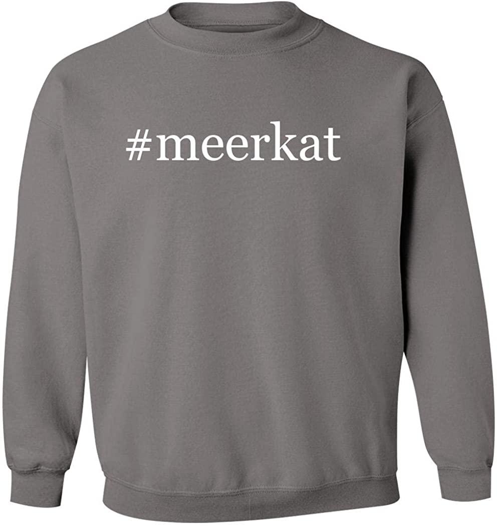#meerkat - Men's Hashtag Pullover Crewneck Sweatshirt