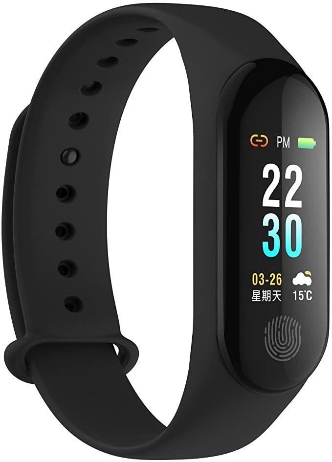 GOPG Activity Tracker Fitness Bracelet, Bluetooth Waterproof Sports Business Sleep Monitor for Men and Women, Pedometer