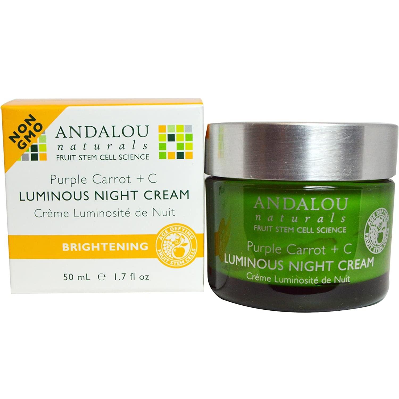 Andalou Naturals Night Cream Purple Carrot + C
