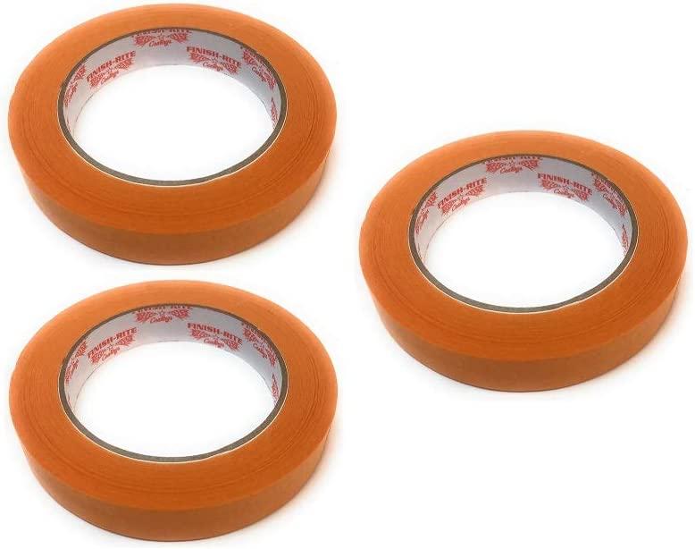 Automotive Refinish Orange Masking Tape, 3/4