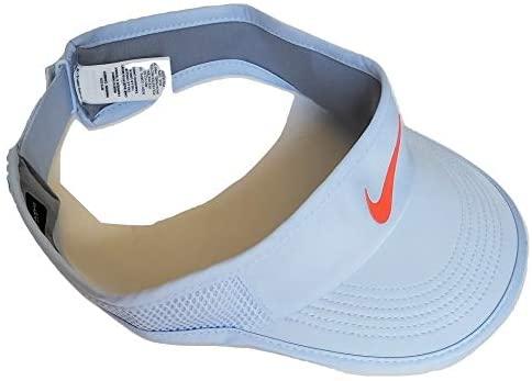 Nike Women's Featherlight Aerobill Tennis Visor Off-White Adjustable