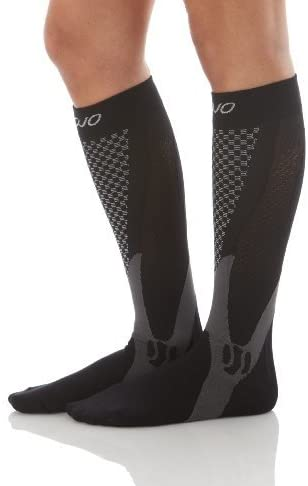 MoJo Recovery & Performance Sports Compression Socks - Black Small