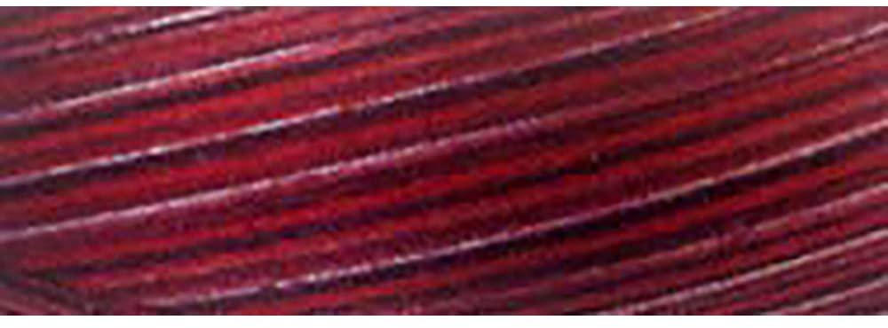 Signature 3 Ply Cotton Quilting Thread, 40wt/3000 yd, Variegated Rose Petals