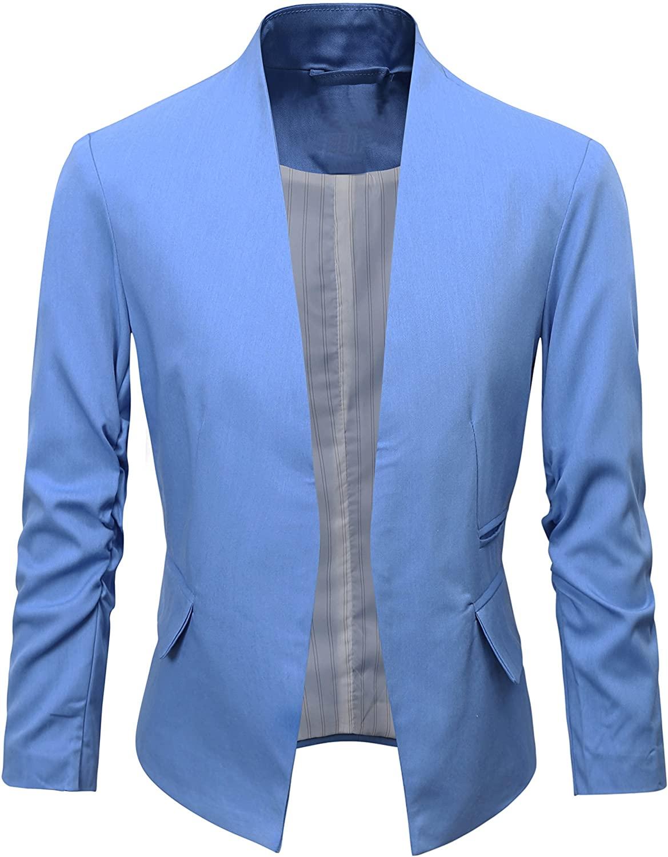 Women's Folding Sleeve Office Blazer