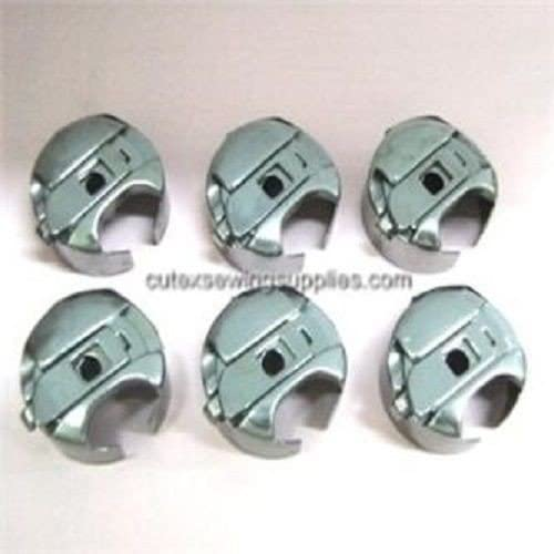 (Ship from USA) 6 Large Capacity Bobbin Caes For Industrial Walking Foot Sewing Machines *PLKHG484UY6