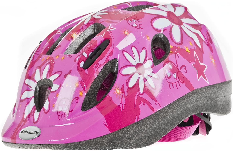 RALEIGH 2013 Mystery Helmet Pink Flowers 52-56 cm
