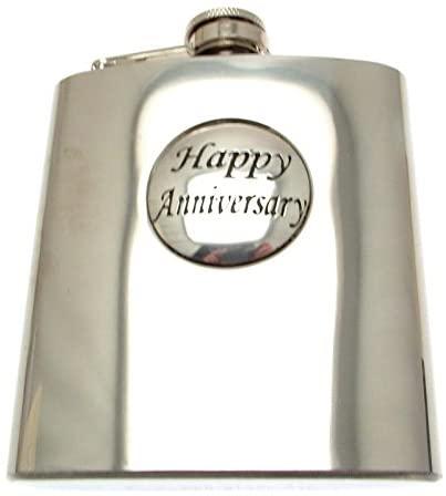 Hip Flask Gifts Hip Flasks for Men Novelty Hip Flasks Boxed Happy