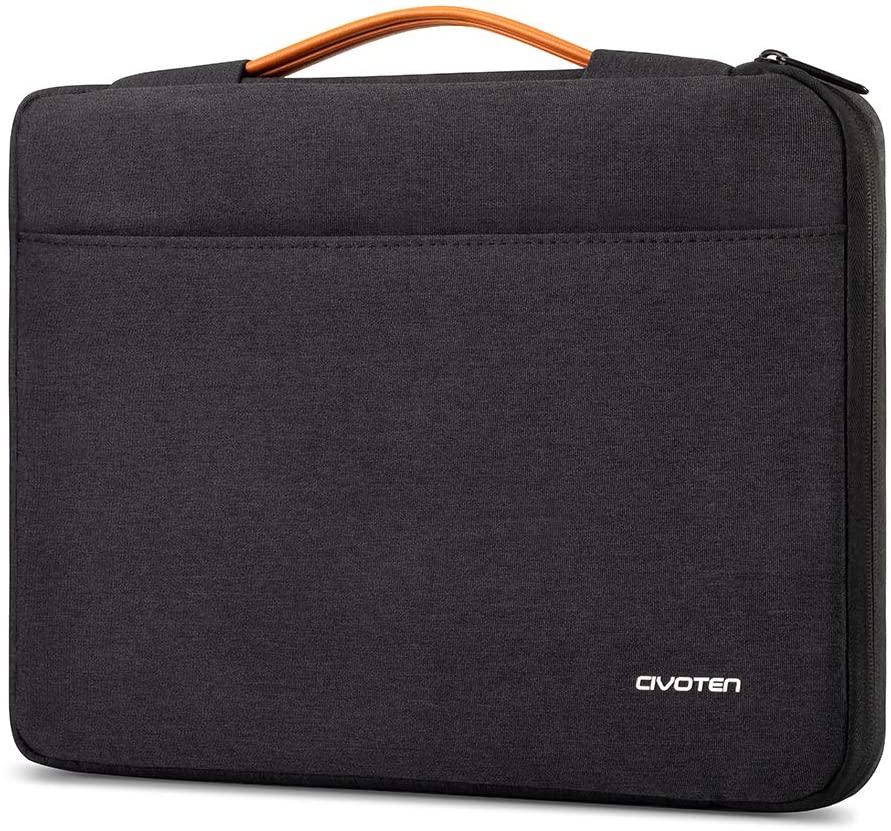 Civoten 13.3 Inch Laptop Sleeve Case Notebook Bag 360° Protective Handbag for MacBook Air/13.5