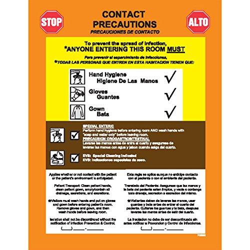 Precautions Label Enteric Contact