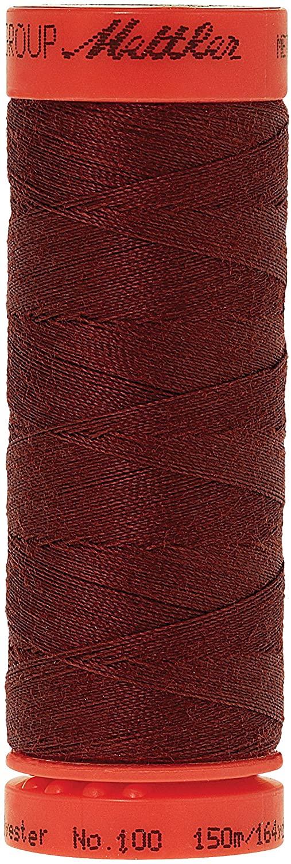 Mettler Metrosene 100% Core Spun Polyester Thread, 165 yd, Foxy Red