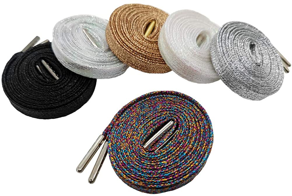 Glitter Shoelaces (6 Pairs 45