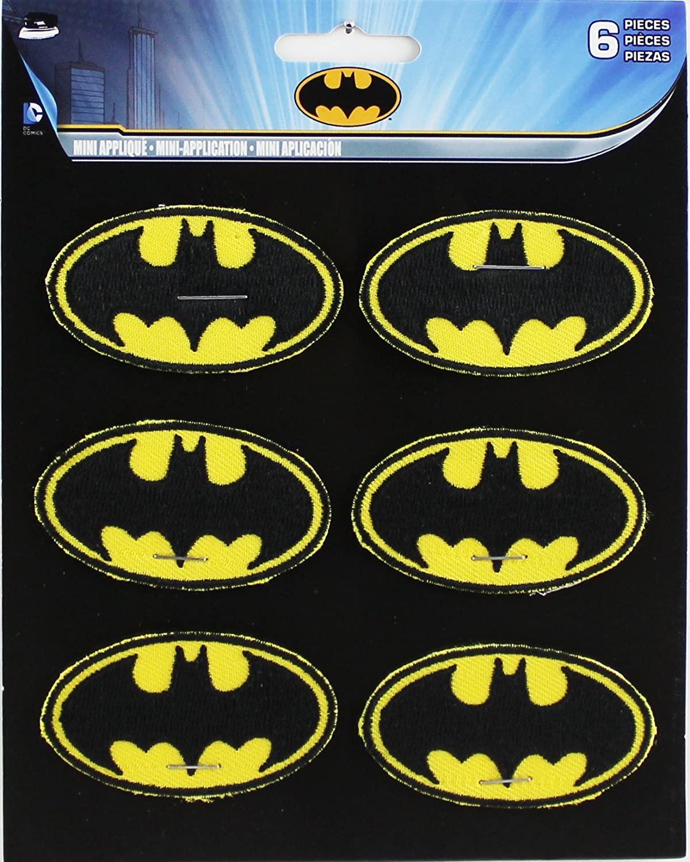 Application DC Comics Batman 6 Logo Patch Set