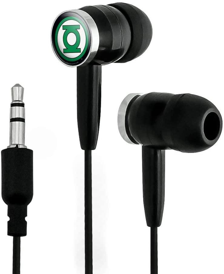 GRAPHICS & MORE Green Lantern Logo Novelty in-Ear Earbud Headphones