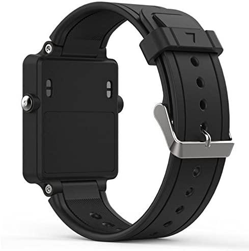 QGHXO Band for Garmin Vivoactive, Soft Silicone Replacement Watch Band for Garmin Vivoactive/Vivoactive Acetate (No Tracker, Replacement Bands Only)