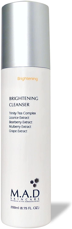 M.A.D Skincare Brightening Cleanser 6.75 oz.