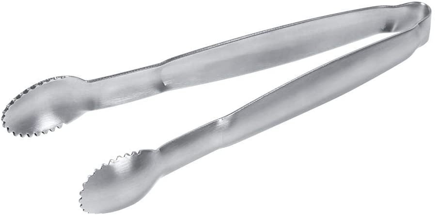 Stainless Steel Ice Cookie Sugar Tongs for Food Party Buffet Serving Clip Salad Bread Clamp