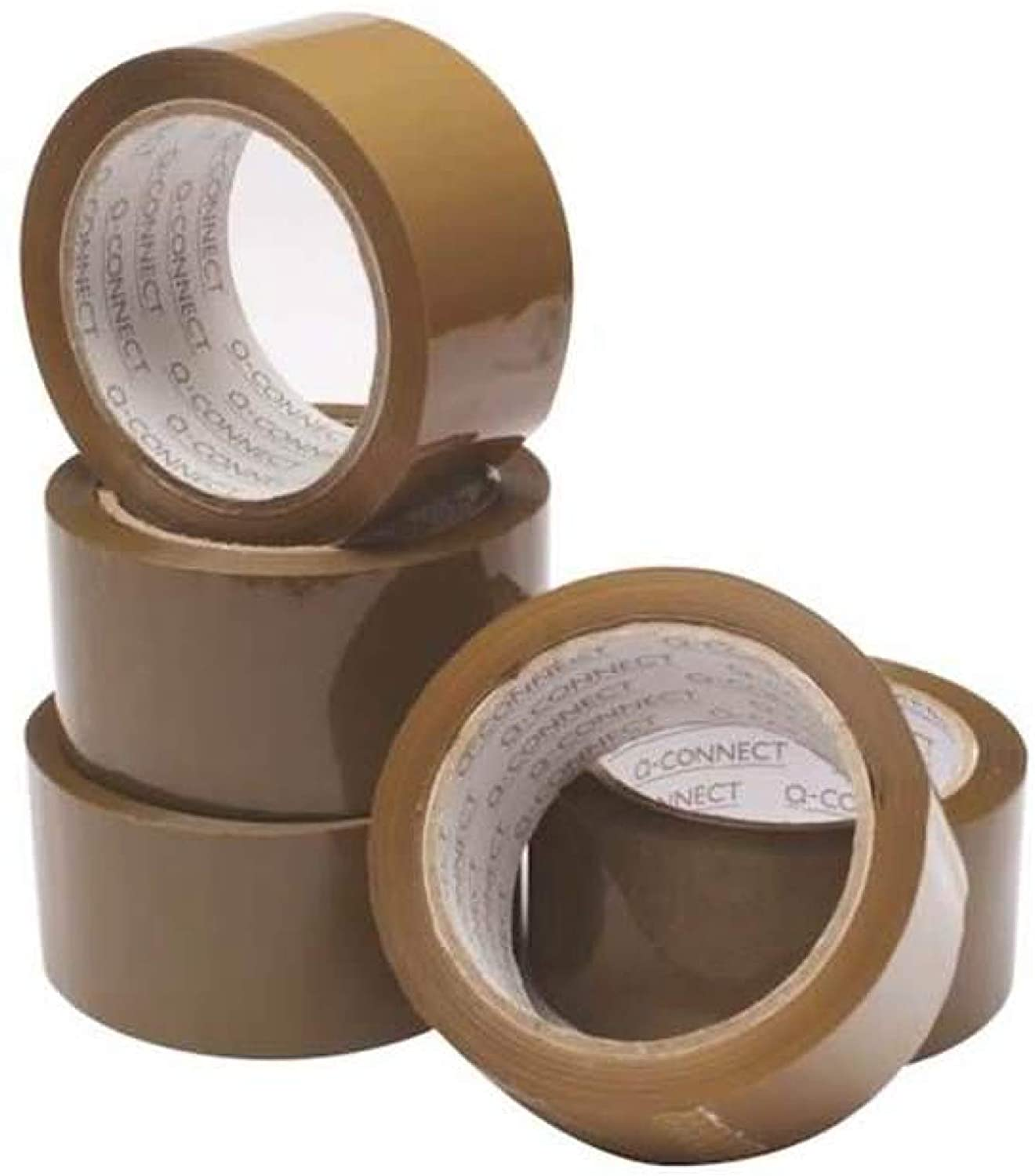 Q CONNECT PACKAGING TAPE 50MMX66M
