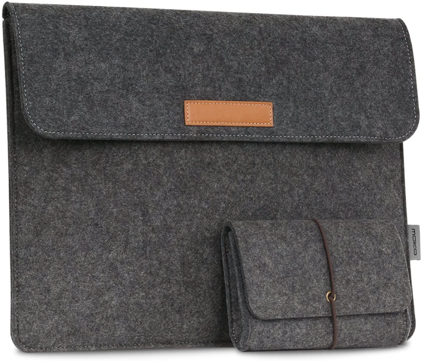MoKo 13-13.3 Inch Laptop Sleeve Case Fits MacBook Air 13-inch Retina, MacBook Pro 13