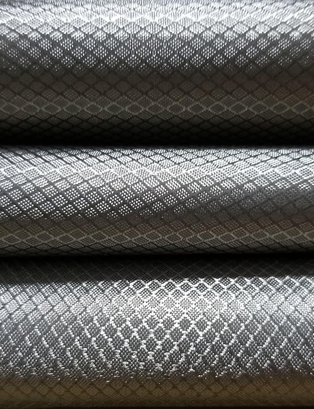 LVFEIER Radiation Protection/Conductive/RFID Shielding/EMF Blocking Fabric Blocking WiFi-Anti-Prevent Electronic Information Leakage (39.3742.52IN)