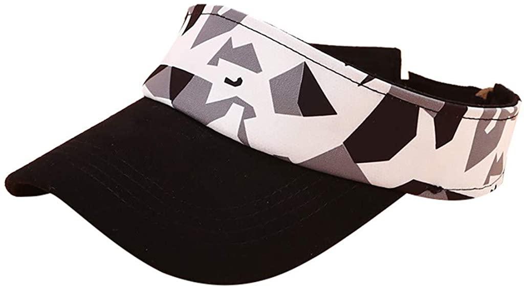 Giulot Sun Visor Hats for Women,Unisex Athletics Hat Fly-by Visor Sports Tennis Golf Running Hat Adjustable Cap