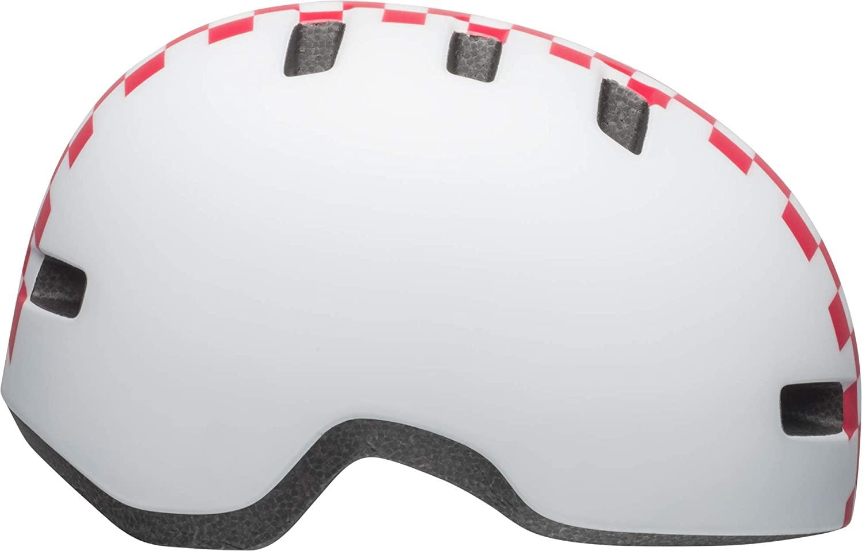 BELL Lil Ripper Toddler Bike Helmet (Checkers Matte White/Pink (2019), Universal Toddler (45-51 cm))