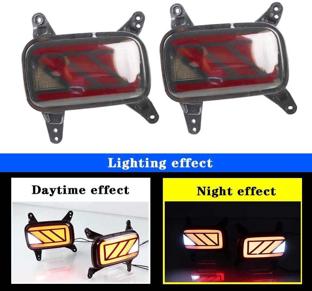 Tail Lamp For Hyundai Venue 2020 LED Light Rear bumper lamp Driving lamp Brake light Backup lamp High Performance Decorative 2PCS