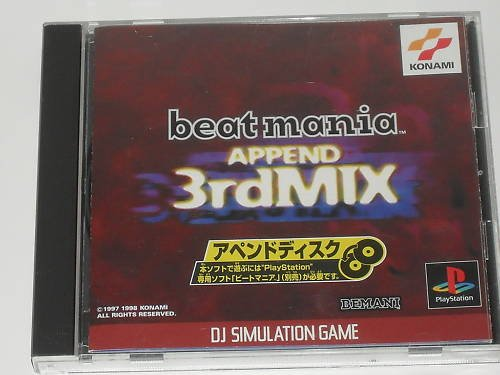 Beatmania Append 3rd Mix Playstation [Japan Import]