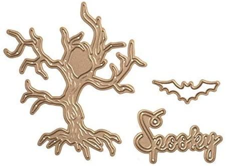 Spellbinders Shapeabilities Spooky Tree Etched/Wafer Thin Dies