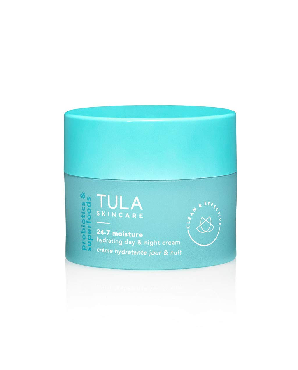 TULA Probiotic Skin Care 24-7 Moisture Hydrating Day and Night Cream   Moisturizer for Face, Anti Aging Face Cream, Contains Watermelon Fruit and Blueberry Extract   1.5 oz