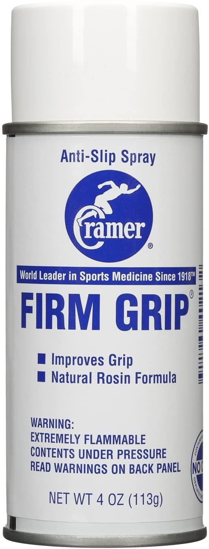 Cramer Firm Grip, Anti-Slip Grip Enhancer for Sweaty Hands & Activities Like Football, Tennis, Golf, Weightlifting, Pole Fitness & Gymnastics, Spray or Powder, 4 Ounce
