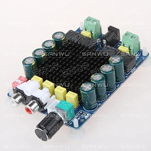 1 pcs lot High Power Digital amplifier Board 2X100W Dual Channel Stereo tda7498 amplifier