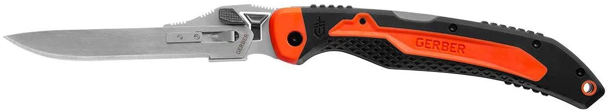 Gerber Vital Big Game Folder - Tool-less Exchangeable Blade Hunting Knife w/ Sheath [31-003053]